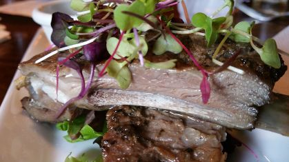 Border spring Lamb ribs 2 close