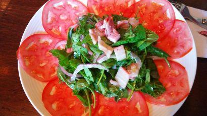 grana tomato carpaccio